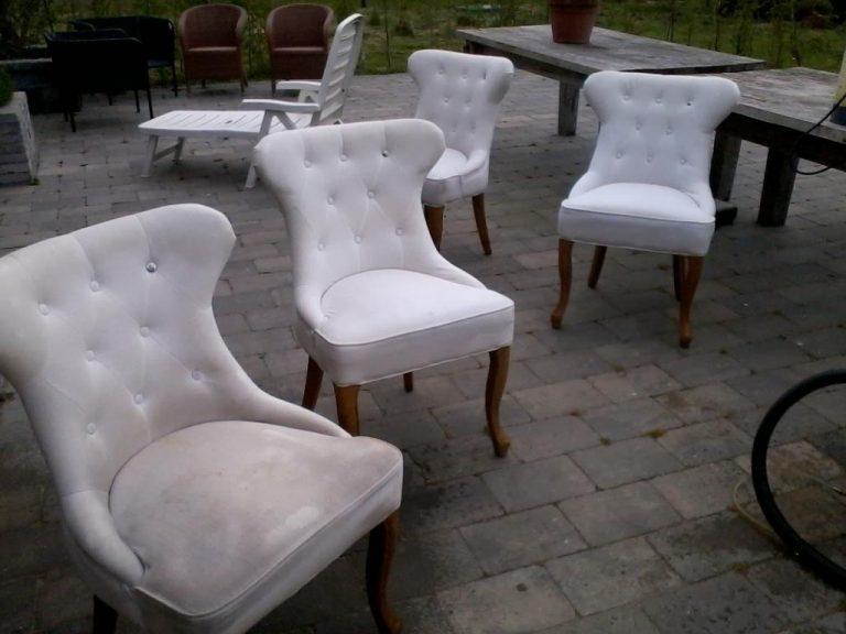 stoffen fauteuil laten reinigen