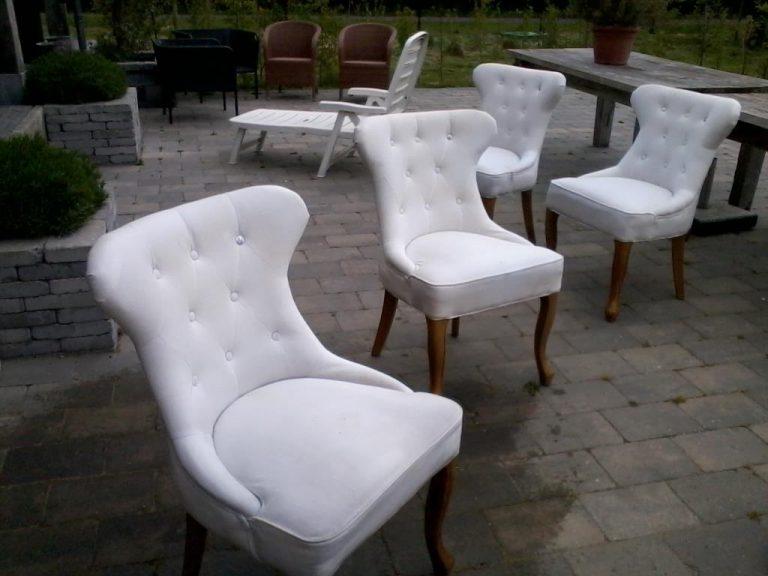 Stoffen fauteuil reinigen