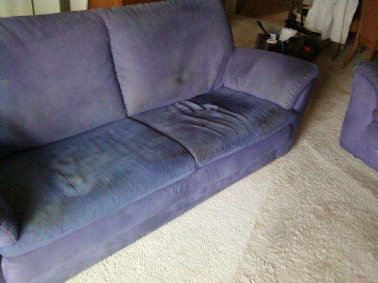 gestoffeerde meubels reinigen